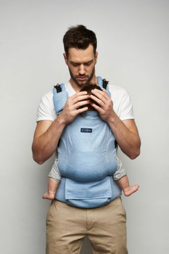 Zaffiro ERGONOMIC BABY CARRIER (BLUE)